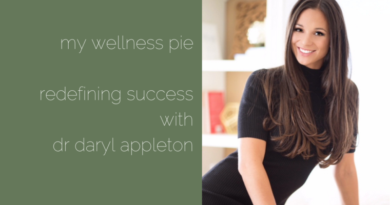 Redefining Success with Dr Daryl Appleton